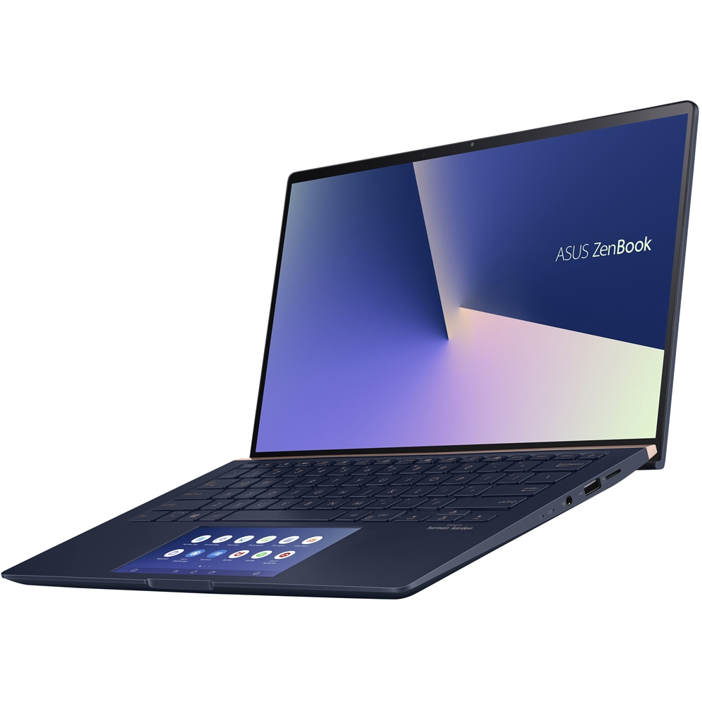 "Alt View Zoom 14. ASUS - Zenbook 14"" Laptop - Intel Core i7 - 16GB Memory - NVIDIA GeForce MX250 - 512GB SSD - Royal Blue - Royal Blue."