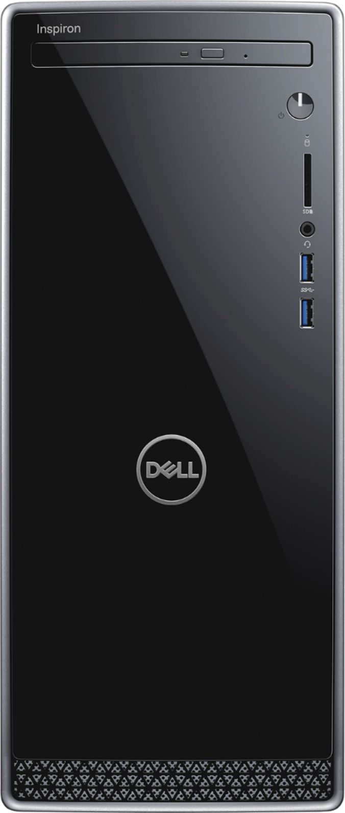 Alt View Zoom 11. Dell - Inspiron Desktop - Intel Core i5 - 12GB Memory - 256GB Solid State Drive - Black With Silver Trim.