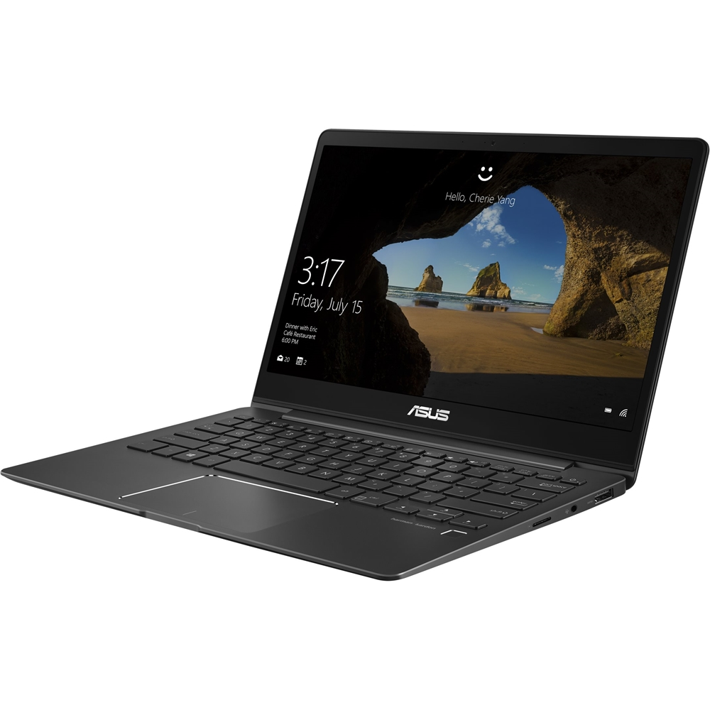 """Alt View Zoom 12. ASUS - 13.3"""" Laptop - Intel Core i7 - 8GB Memory - 512GB Solid State Drive - Slate Gray."""