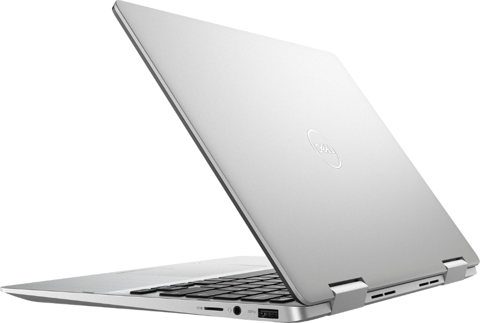 "Alt View Zoom 1. Dell - Inspiron 2-in-1 13.3"" Geek Squad Certified Refurbished Touch-Screen Laptop - Intel Core i5 - 8GB Memory - 256GB SSD - Silver."