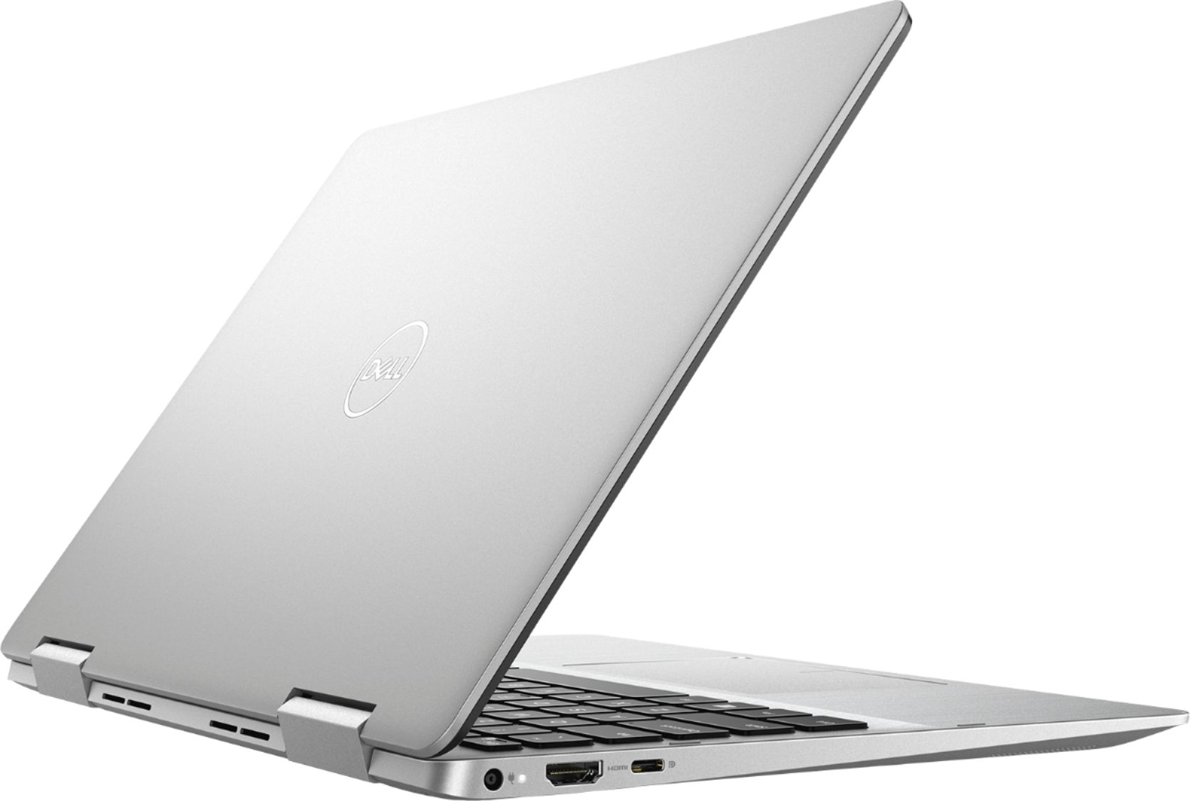 "Alt View Zoom 11. Dell - Inspiron 2-in-1 13.3"" Geek Squad Certified Refurbished Touch-Screen Laptop - Intel Core i5 - 8GB Memory - 256GB SSD - Silver."