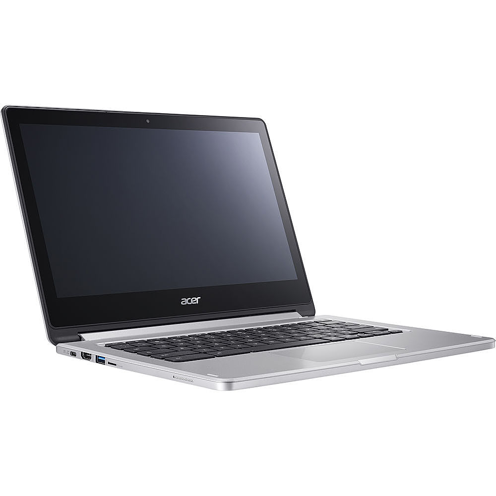 Alt View Zoom 1. Acer - Refurbished Chromebook R 13 - MediaTek M8173C - 4GB Memory - 64GB Flash - White.