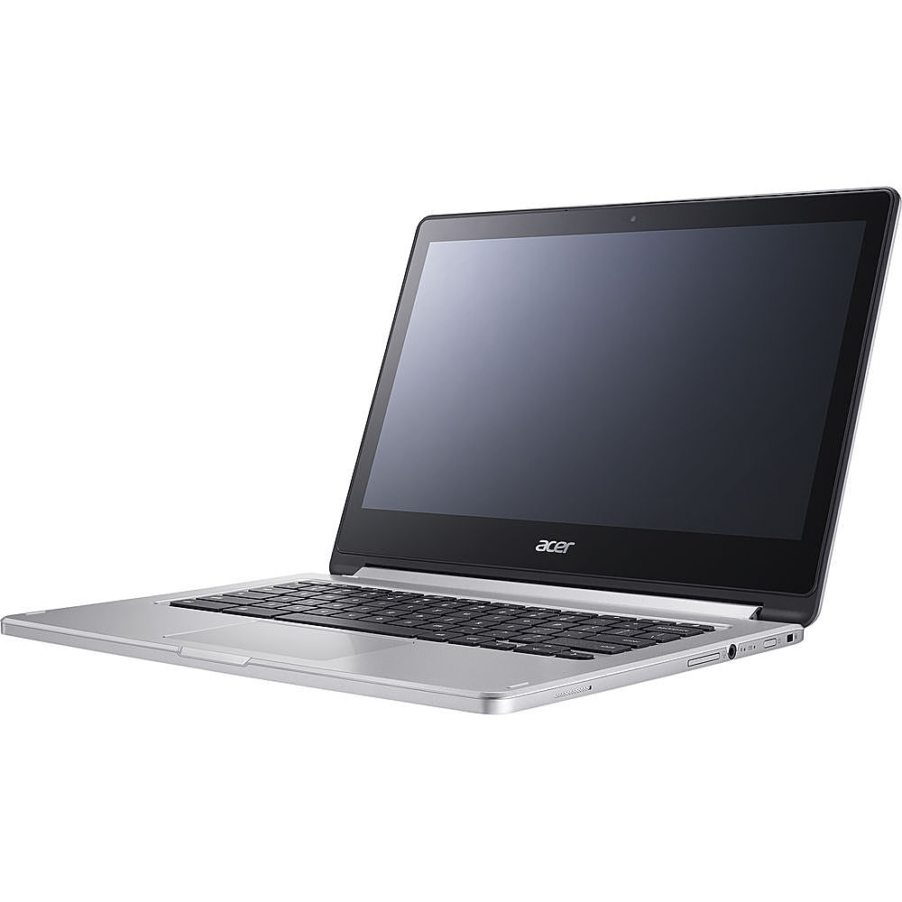 Left Zoom. Acer - Refurbished Chromebook R 13 - MediaTek M8173C - 4GB Memory - 64GB Flash - White.