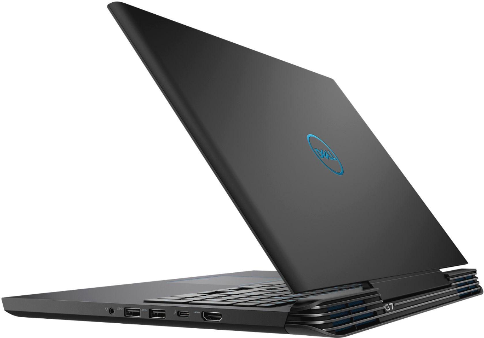 "Alt View Zoom 1. Dell - Geek Squad Certified Refurbished 15.6"" Laptop - Intel Core i7 - 16GB Memory - NVIDIA GeForce GTX 1060 - 128GB SSD+1TB HD - Licorice Black."