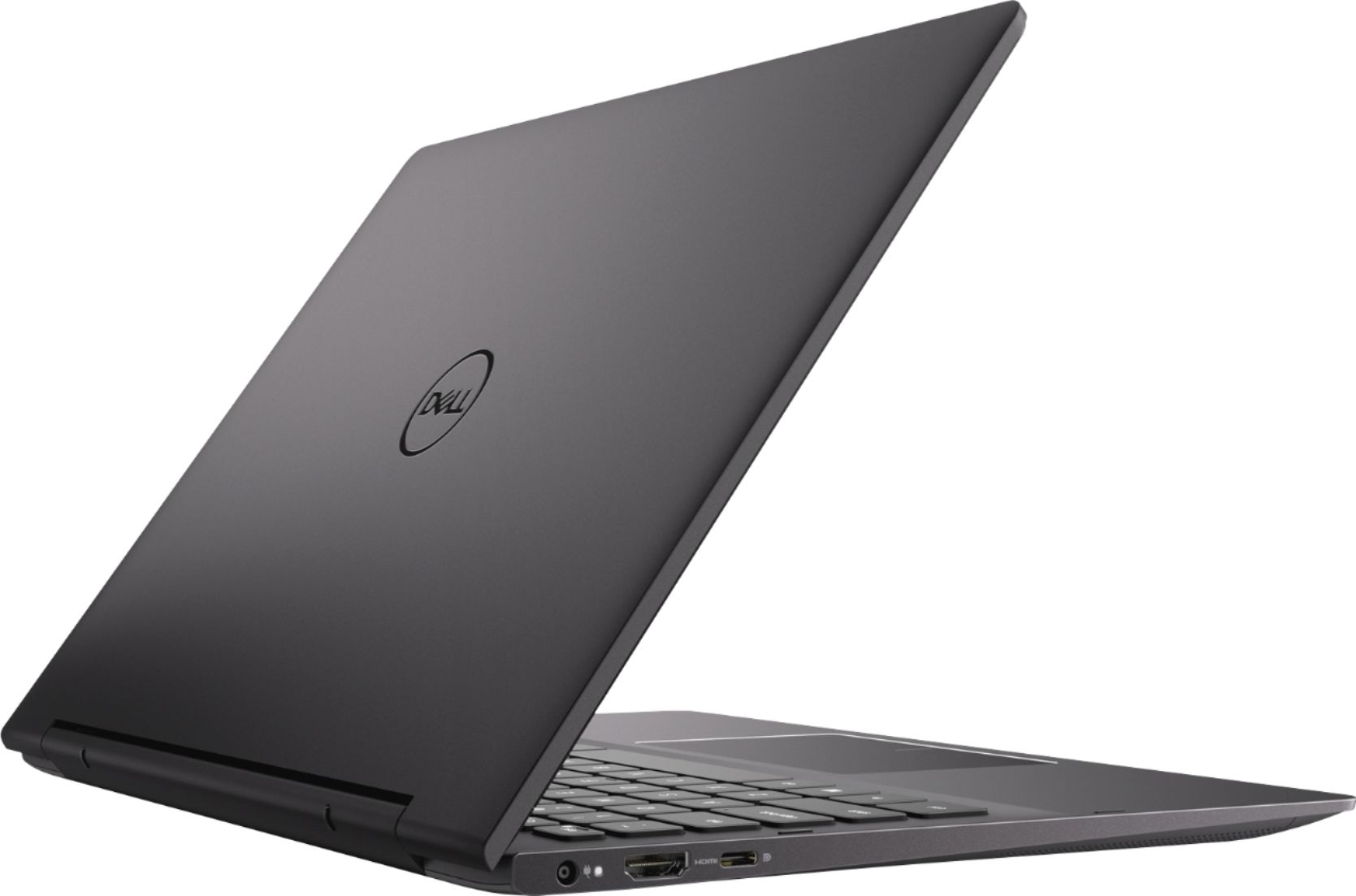 "Alt View Zoom 11. Dell - Inspiron 13.3"" Geek Squad Certified Refurbished 4K Ultra HD Touch-Screen Laptop Intel Core i7 16GB Memory 512GB SSD - Black."