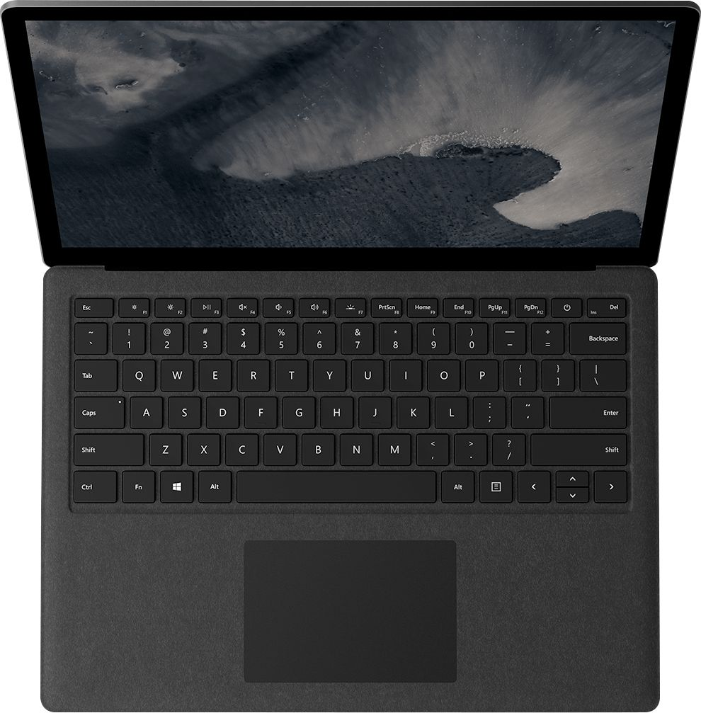 """Alt View Zoom 14. Microsoft - Geek Squad Certified Refurbished Surface Laptop 2 - 13.5"""" Touch Screen - Intel Core i5 - 8GB - 256GB SSD - Black."""