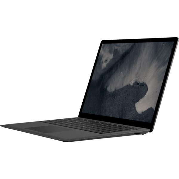 """Microsoft - Geek Squad Certified Refurbished Surface Laptop 2 - 13.5"""" Touch Screen - Intel Core i5 - 8GB - 256GB SSD - Black"""