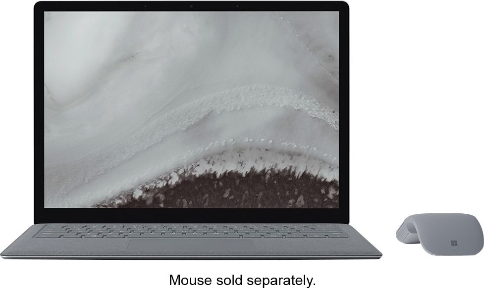 """Alt View Zoom 11. Microsoft - Geek Squad Certified Refurbished Surface Laptop 2 - 13.5"""" Touch Screen - Intel Core i5 - 8GB - 128GB SSD - Platinum."""