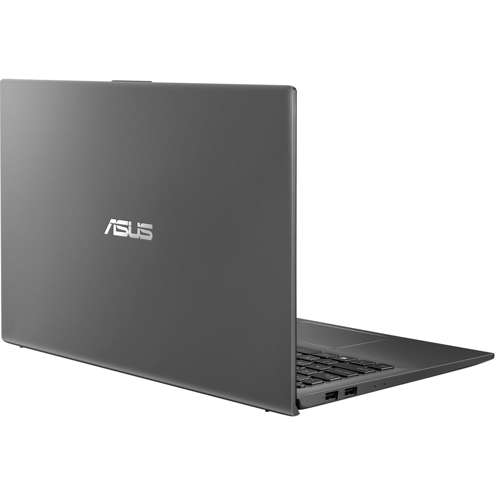 "Alt View Zoom 12. ASUS - 15.6"" Laptop - AMD Ryzen 5 - 8GB Memory - 1TB Hard Drive + 128GB Solid State Drive - Slate Gray."