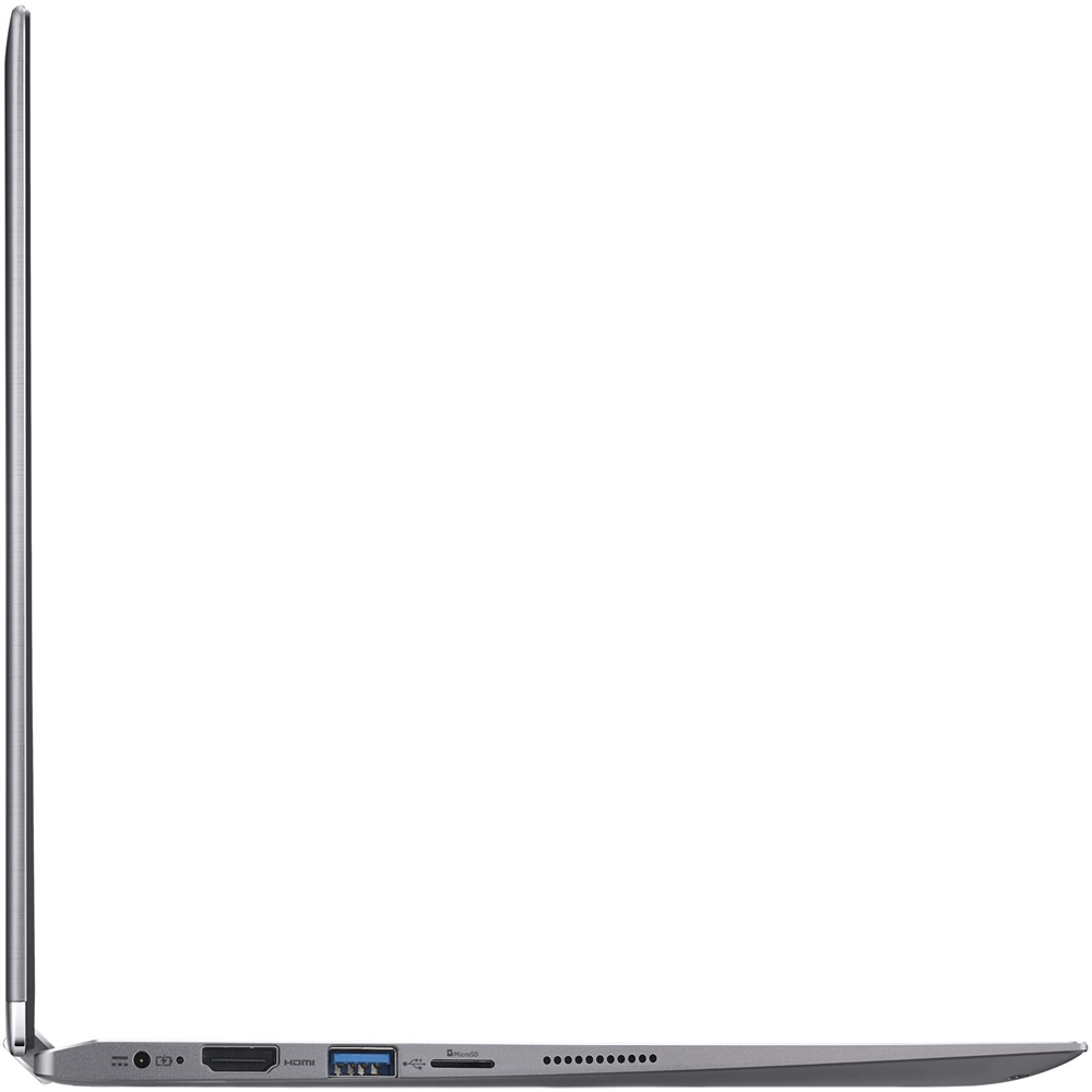 """Left Zoom. Acer - Spin 1 2-in-1 11.6"""" Refurbished Touch-Screen Laptop - Intel Pentium - 4GB Memory - 64GB eMMC Flash Memory - Gray."""