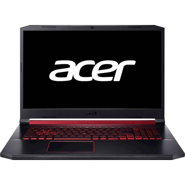"Acer - Nitro 5 17.3"" Refurbished Gaming Laptop - Intel Core i5 - 8GB Memory - NVIDIA GeForce GTX 1650 - 512GB Solid State Drive - Obsidian Black"