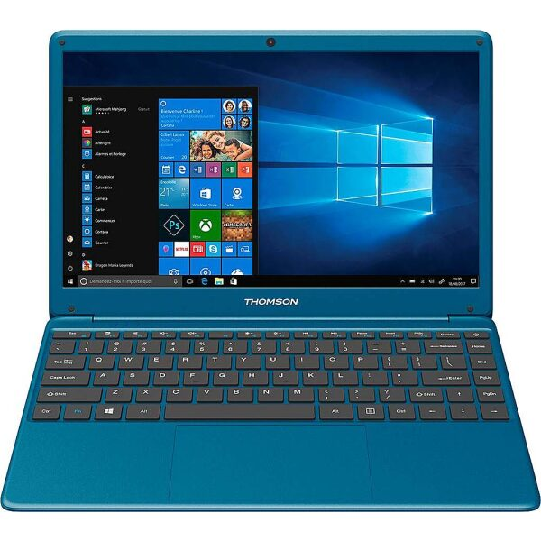 "Thomson - NEO X 14.1"" Laptop - Intel Celeron - 4GB Memory - 64GB eMMC - Blue"