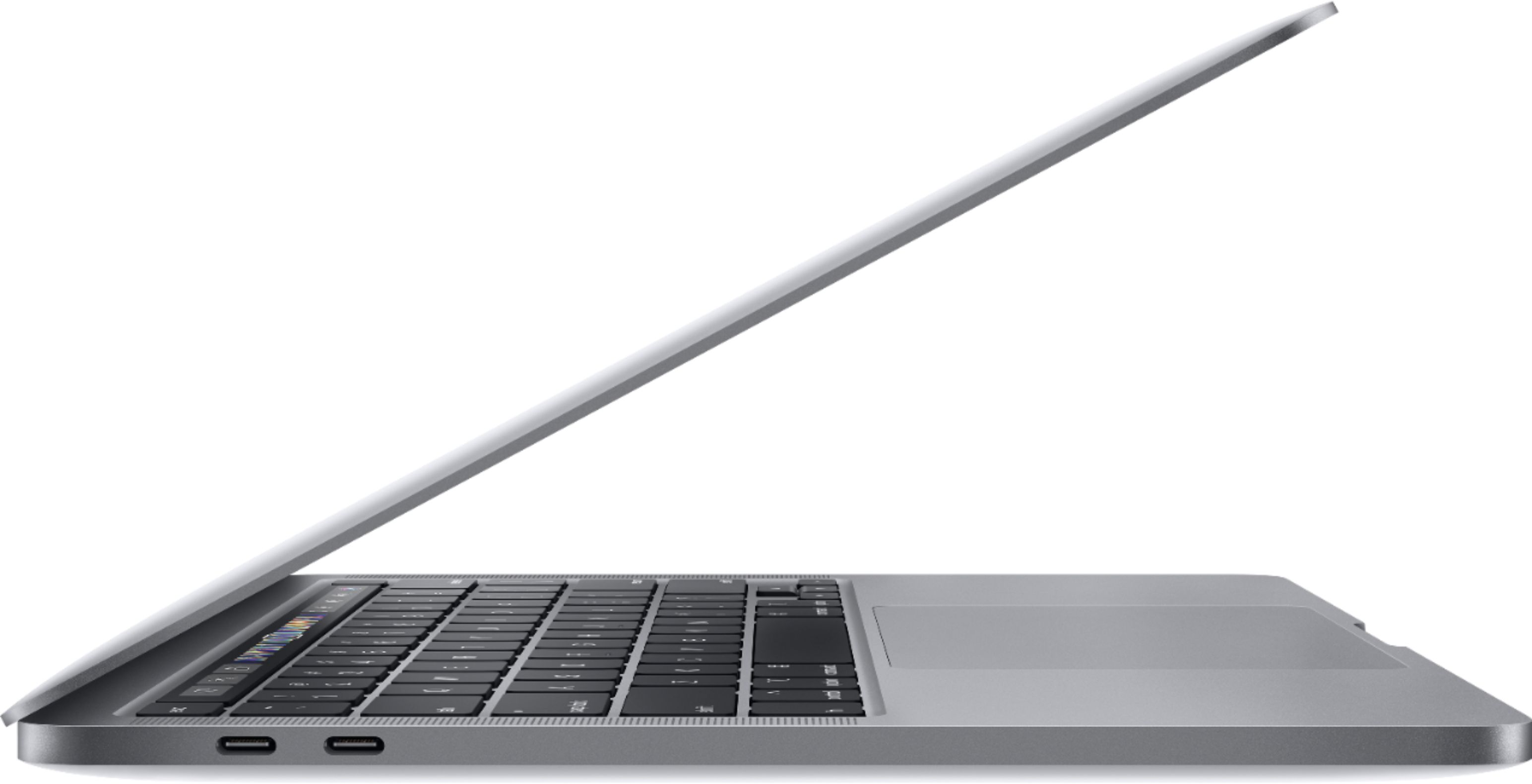 "Alt View Zoom 11. Apple - Geek Squad Certified Refurbished MacBook Pro - 13"" Display with Touch Bar - Intel Core i5 - 16GB Memory - 512GB SSD - Space Gray."