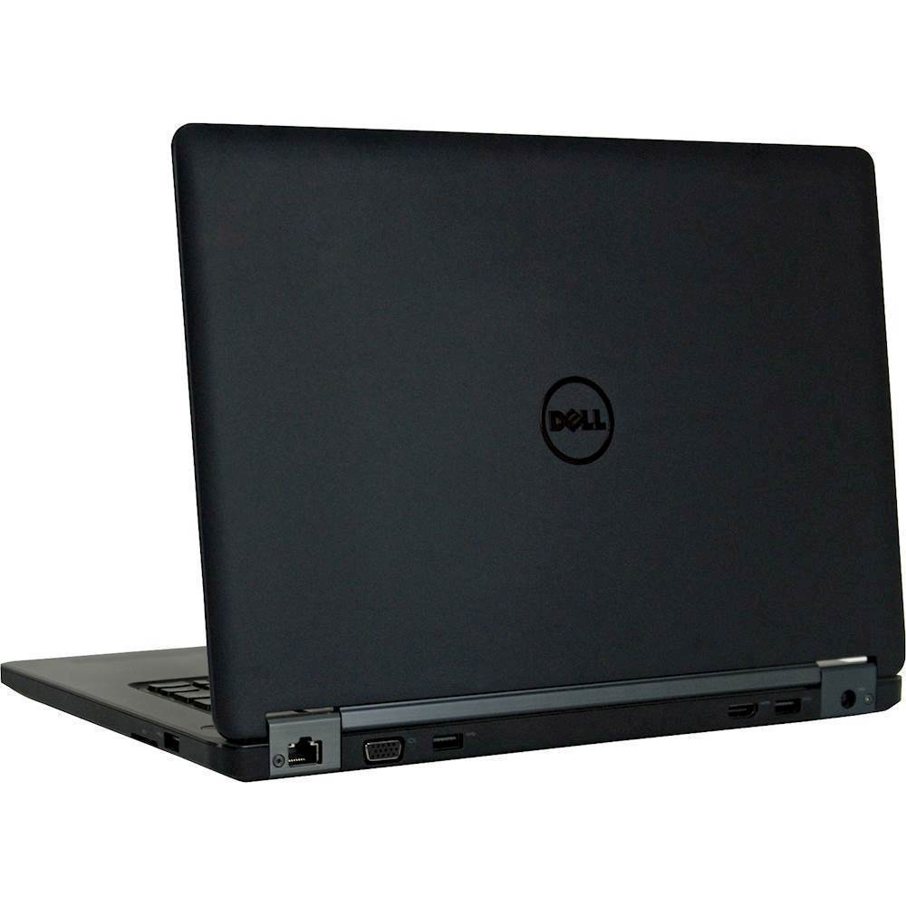 """Alt View Zoom 1. Dell - Latitude 12.5"""" Refurbished Laptop - Intel Core i5 - 8GB Memory - 240GB Solid State Drive - Black."""