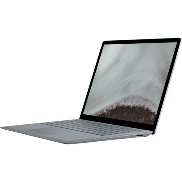 """Microsoft - Geek Squad Certified Refurbished Surface Laptop 2 - 13.5"""" Touch Screen - Intel Core i5 - 8GB - 256GB SSD - Platinum"""
