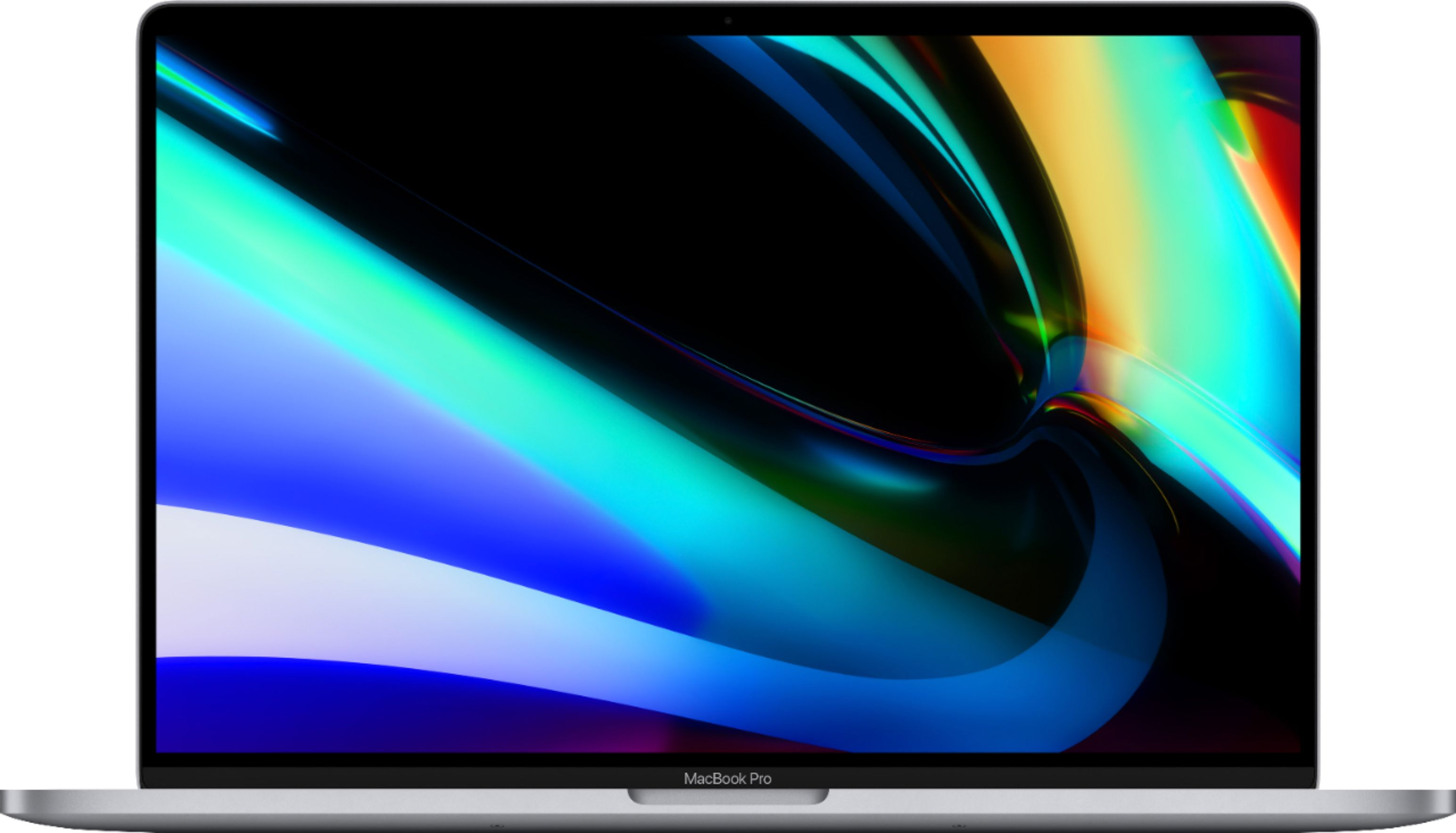 """Front Zoom. Apple - MacBook Pro - 16"""" Display with Touch Bar - Intel Core i7 - 16GB Memory - AMD Radeon Pro 5300M - 512GB SSD (Latest Model) - Space Gray."""