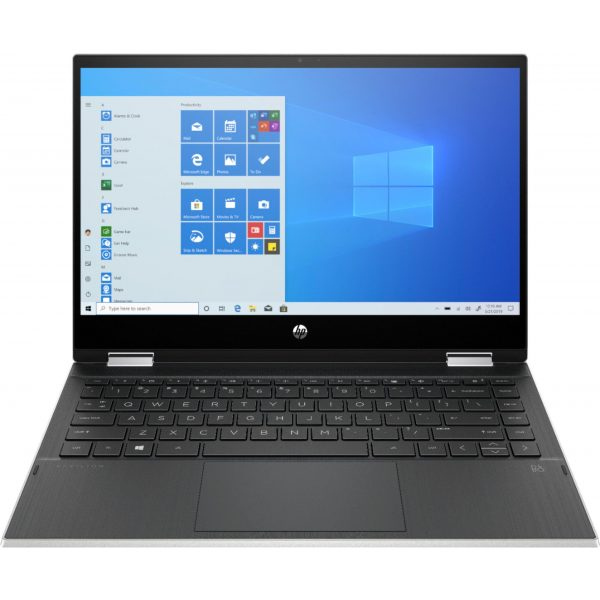 """HP - Pavilion x360 2-in-1 14"""" Touch-Screen Laptop - Intel Core i3 - 8GB Memory - 128GB SSD - Natural Silver"""