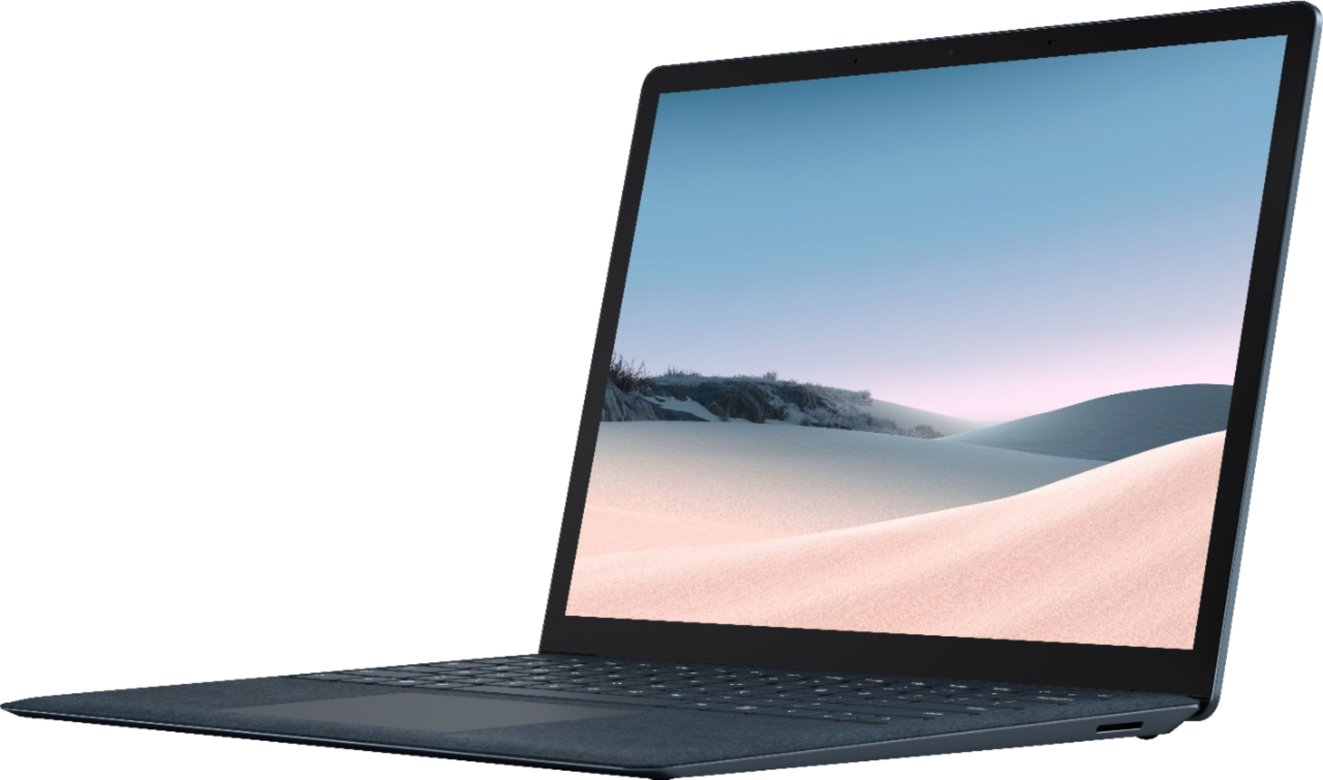 """Front Zoom. Microsoft - Surface Laptop 3 - 13.5"""" Touch-Screen - Intel Core i7 - 16GB Memory - 512GB Solid State Drive (Latest Model) - Cobalt Blue."""