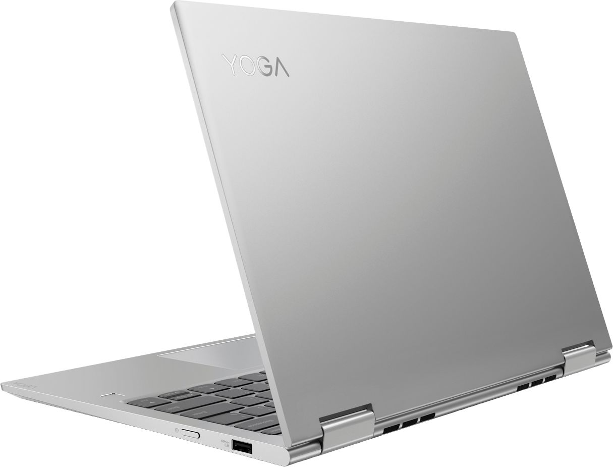 """Alt View Zoom 1. Lenovo - Yoga 730 2-in-1 13.3"""" Touch-Screen Laptop - Intel Core i5 - 8GB Memory - 256GB Solid State Drive - Platinum."""