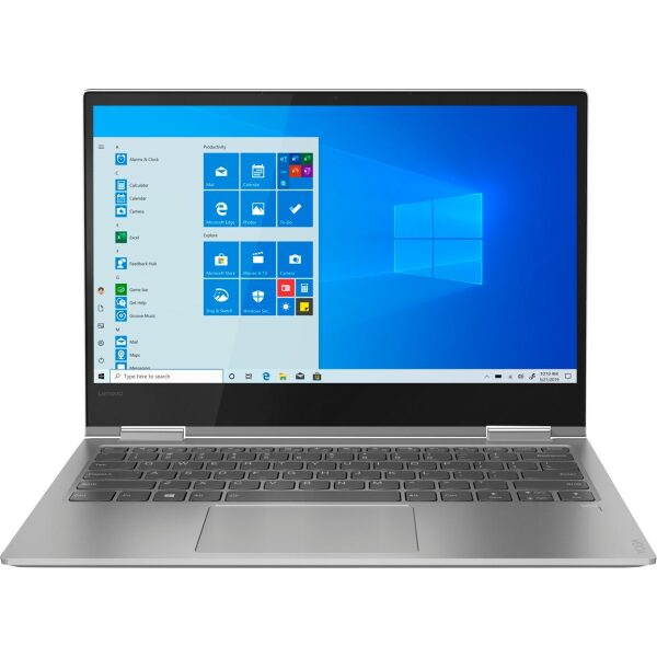 """Lenovo - Yoga 730 2-in-1 13.3"""" Touch-Screen Laptop - Intel Core i5 - 8GB Memory - 256GB Solid State Drive - Platinum"""