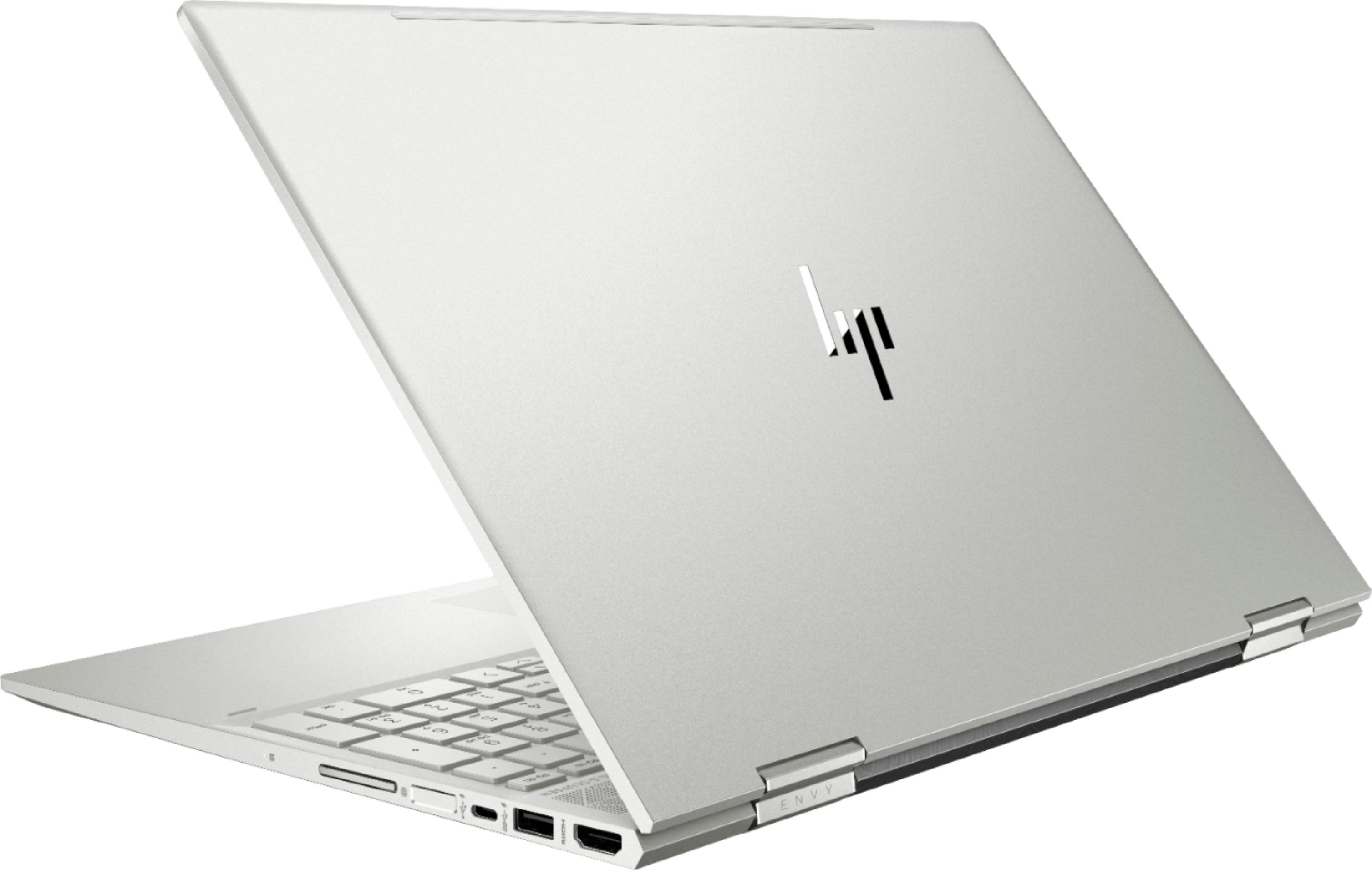 """Alt View Zoom 3. Geek Squad Certified Refurbished ENVY x360 2-in-1 15.6"""" Touch-Screen Laptop - Intel Core i7 - 12GB Memory - 256GB SSD - HP Finish In Natural Silver."""