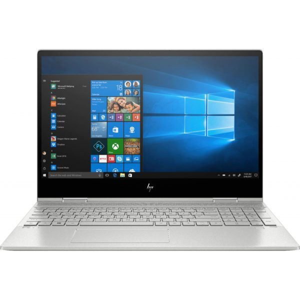 """HP - ENVY x360 2-in-1 15.6"""" Touch-Screen Laptop - Intel Core i5 - 8GB Memory - 256GB Solid State Drive - Natural Silver, Sandblasted Anodized Finish"""