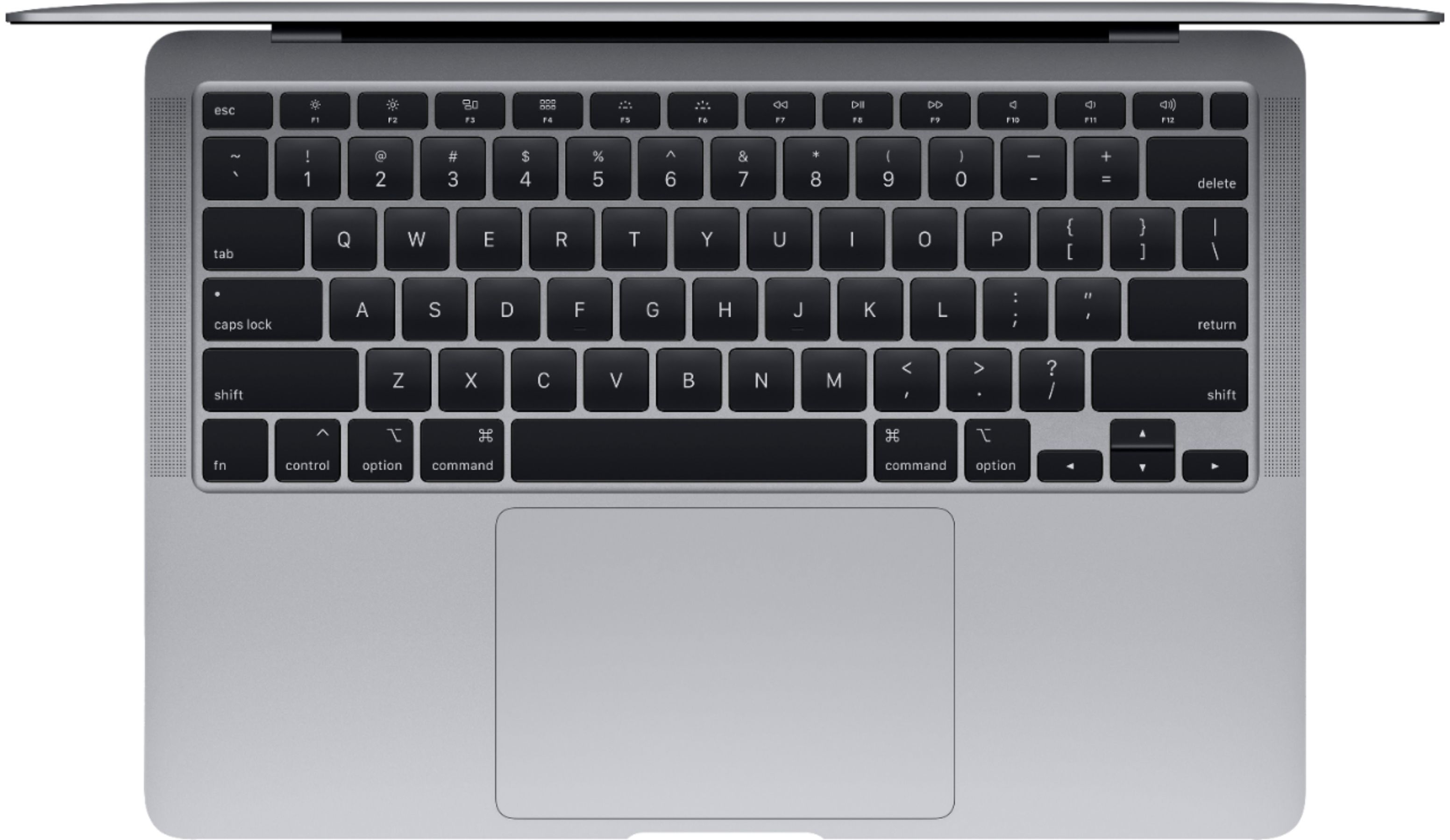 """Alt View Zoom 11. Apple - MacBook Air 13.3"""" Laptop with Touch ID - Intel Core i3 - 8GB Memory - 256GB Solid State Drive - Space Gray."""
