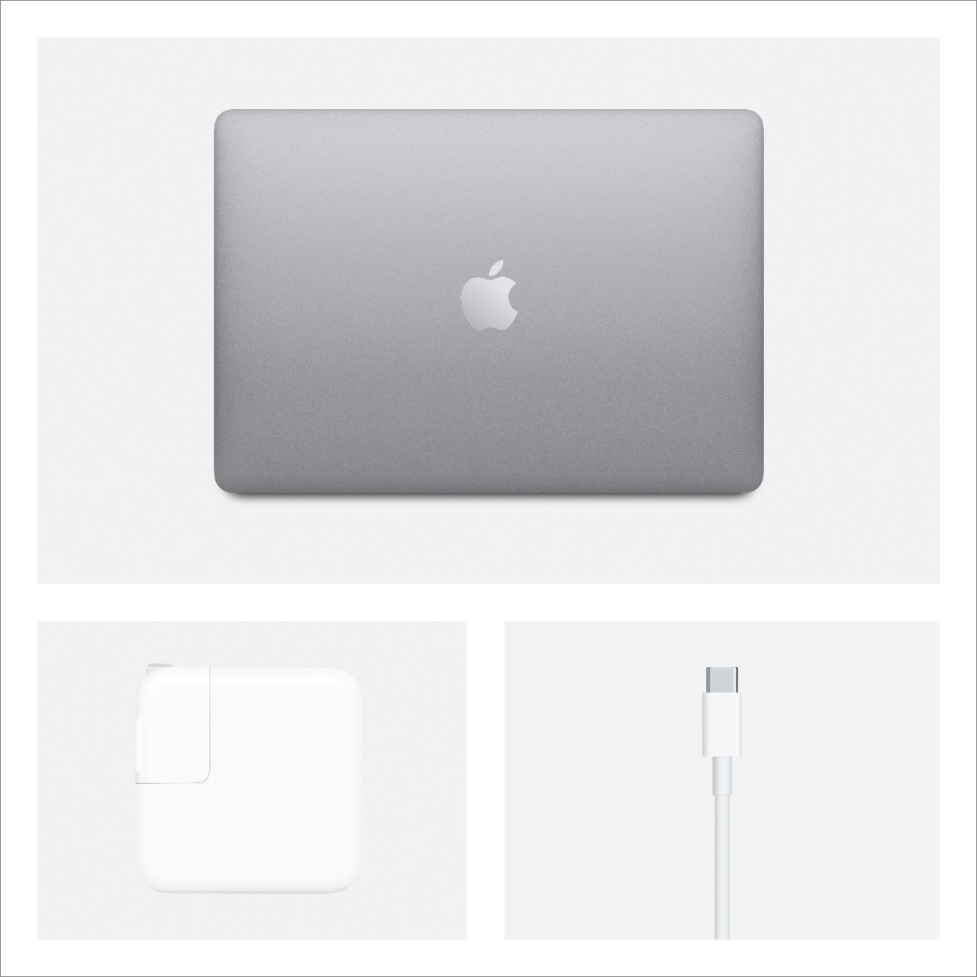"""Alt View Zoom 15. Apple - MacBook Air 13.3"""" Laptop with Touch ID - Intel Core i3 - 8GB Memory - 256GB Solid State Drive - Space Gray."""
