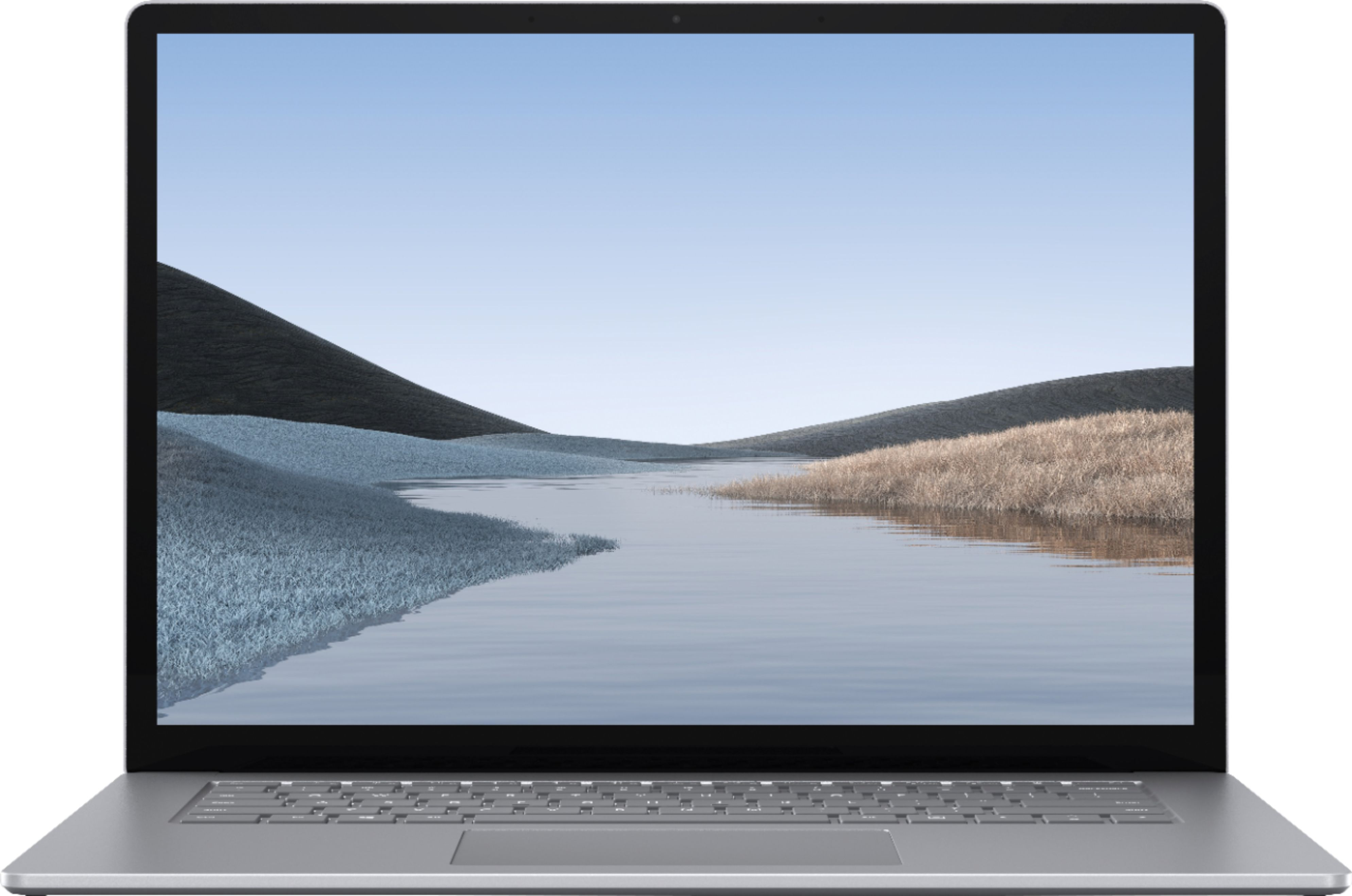 """Alt View Zoom 11. Microsoft - Surface Laptop 3 - 15"""" Touch-Screen - AMD Ryzen™ 5 Surface Edition - 8GB Memory - 128GB SSD (Latest Model) - Platinum."""