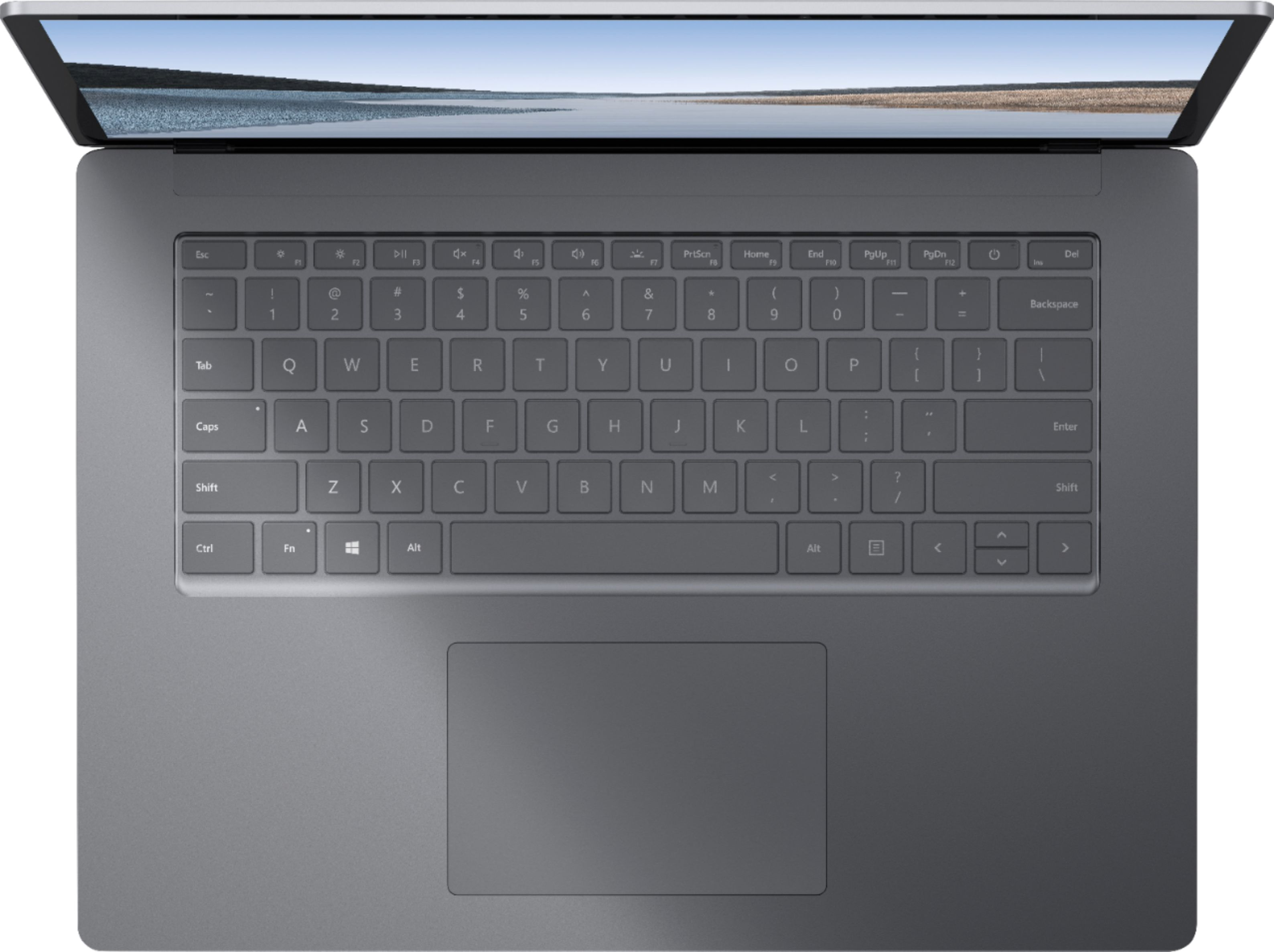 """Alt View Zoom 12. Microsoft - Surface Laptop 3 - 15"""" Touch-Screen - AMD Ryzen™ 5 Surface Edition - 16GB Memory - 256GB SSD (Latest Model) - Platinum."""