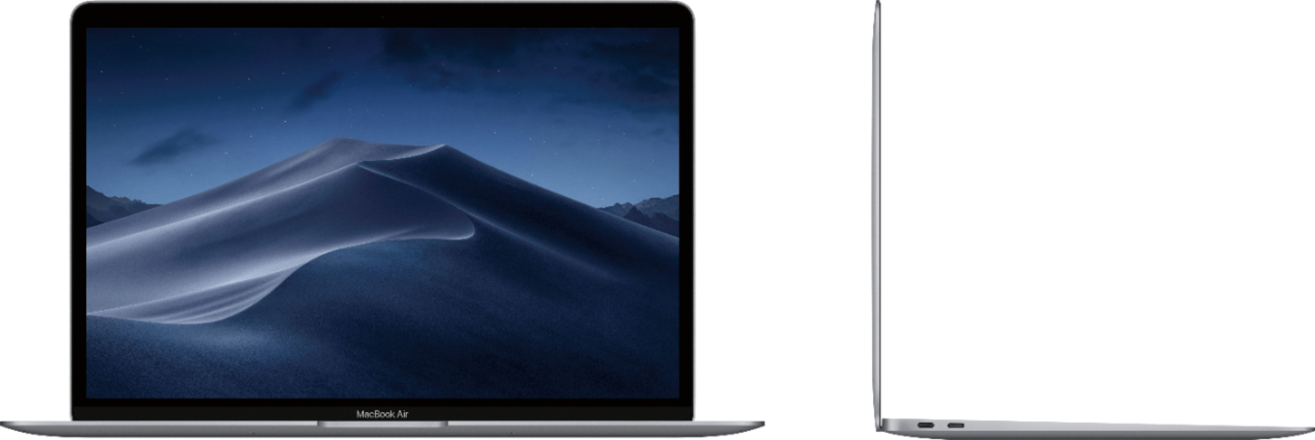 """Alt View Zoom 12. Apple - MacBook Air 13.3"""" Laptop with Touch ID - Intel Core i5 - 8GB Memory - 128GB Solid State Drive - Space Gray."""