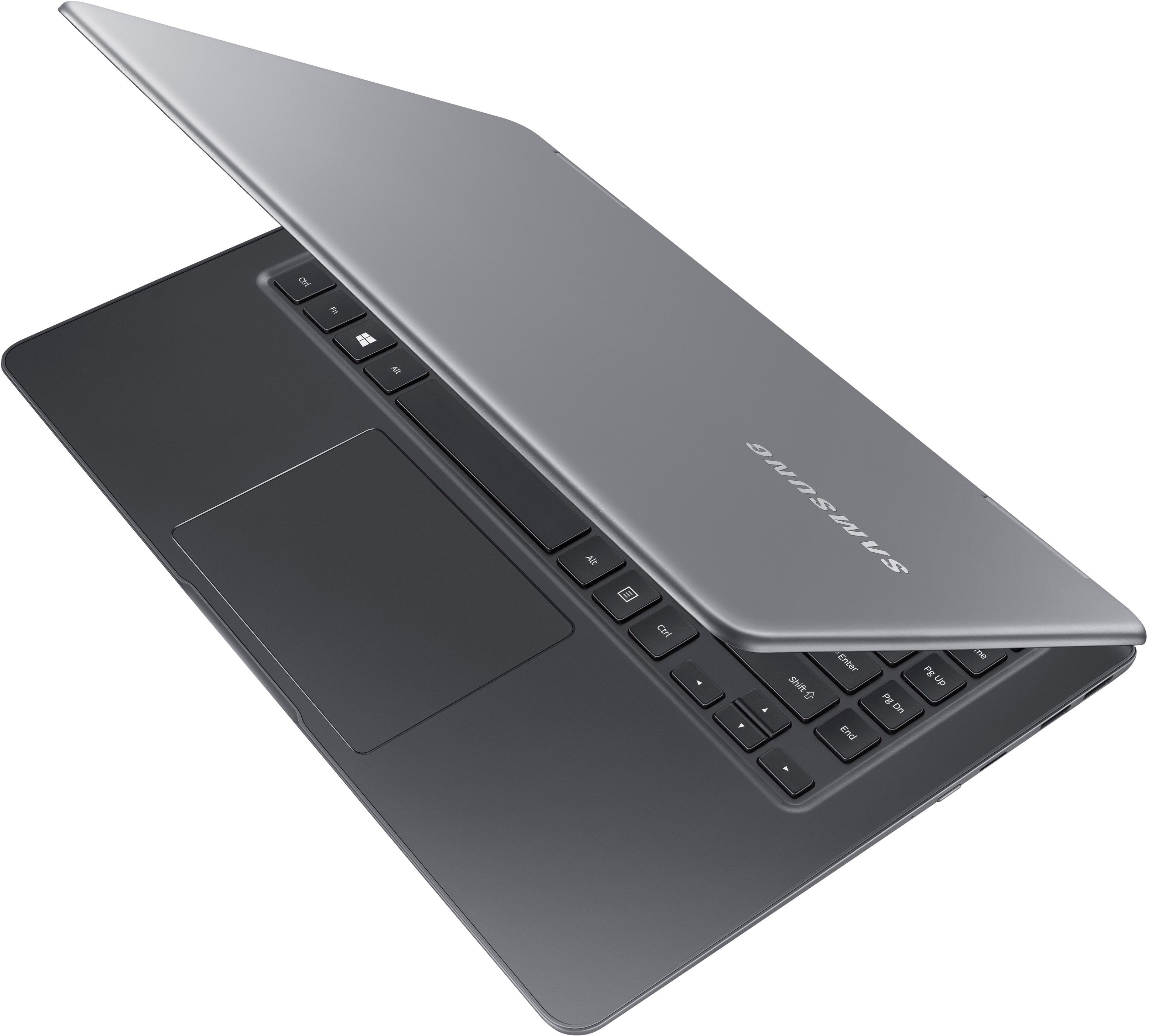 """Alt View Zoom 1. Samsung - Notebook 9 Pro - 15"""" Touch-Screen Laptop – Intel Core i7 – 16GB Memory – AMD Radeon 540 – 256GB Solid State Drive - Titan silver."""