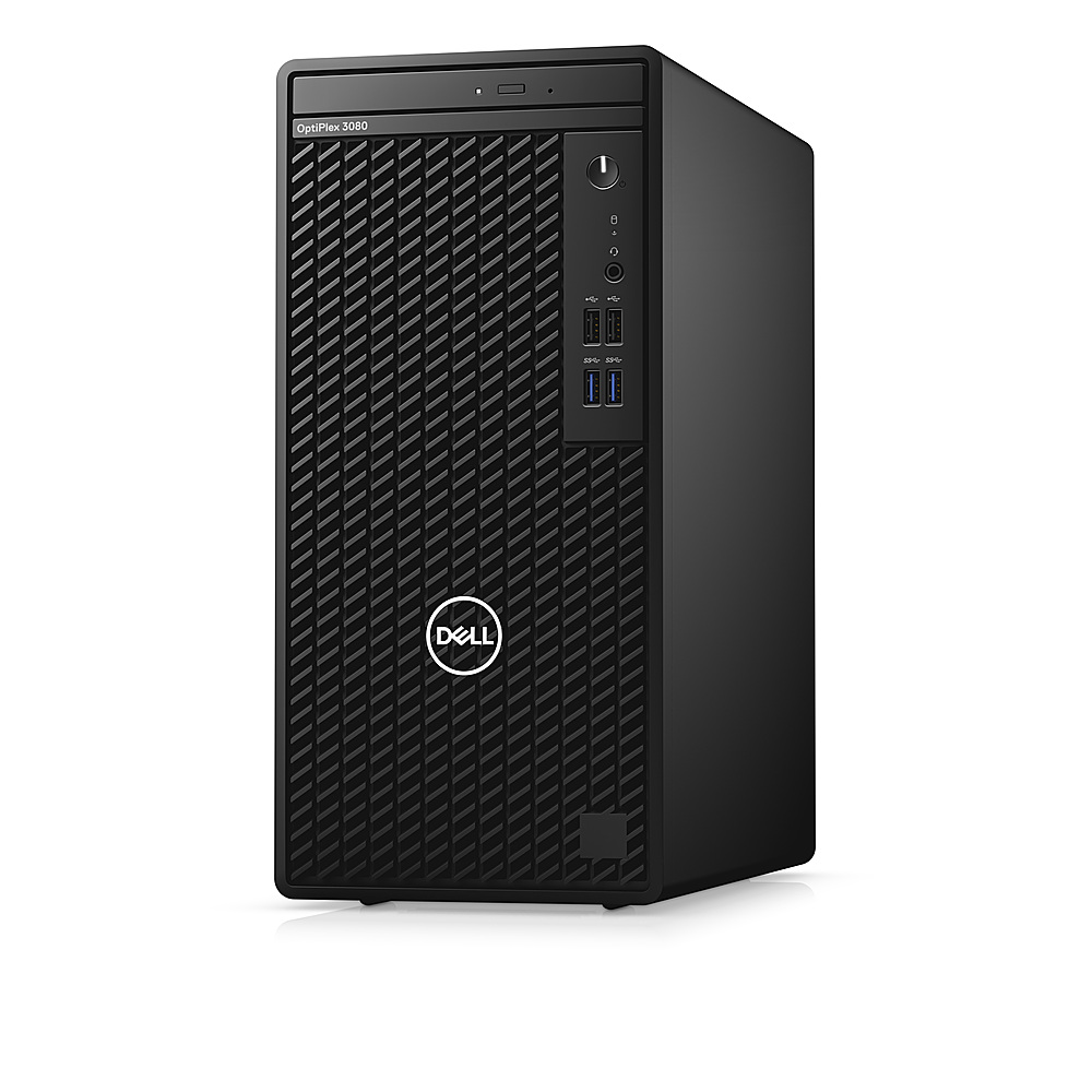 Left Zoom. Dell - OptiPlex 3080 Desktop - i5 - 8GB - 1TB HDD - Keyboard and Mouse.