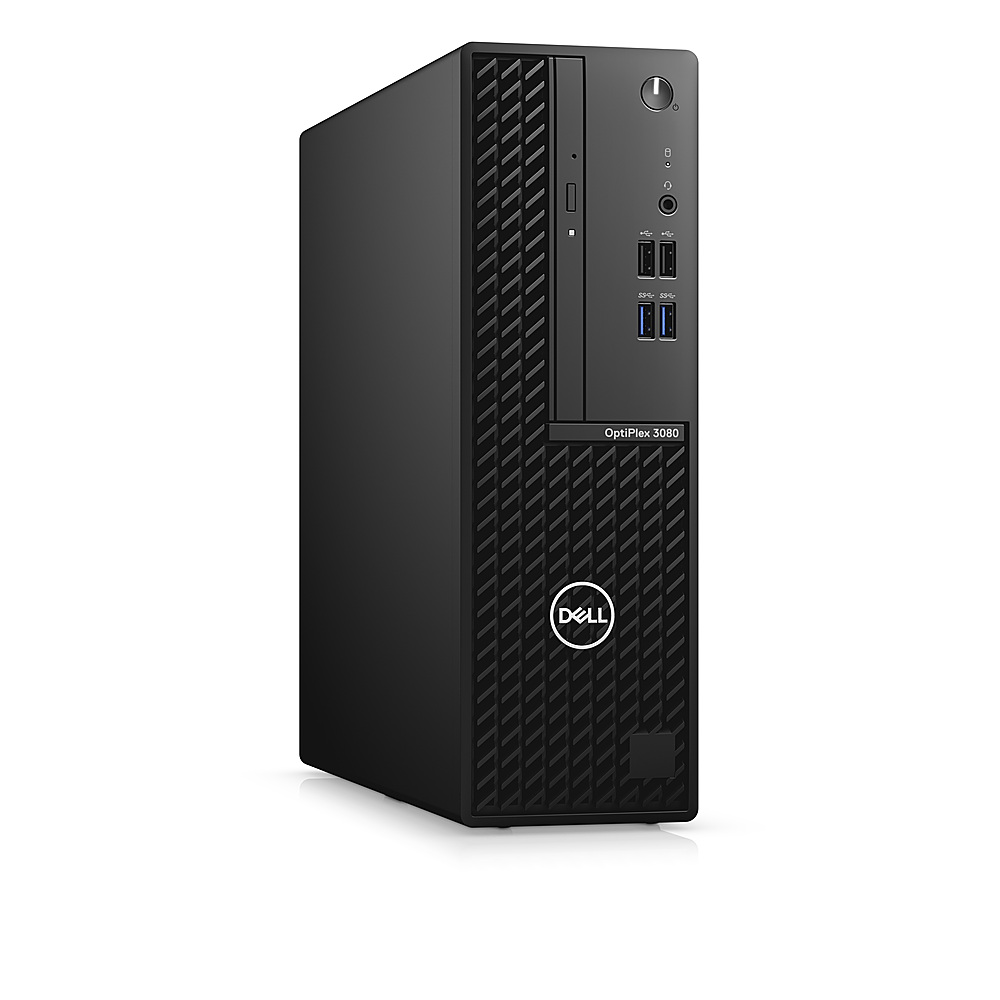 Angle Zoom. Dell - OptiPlex 3080 SFF PC - i5 -10500 - 8GB - 500GB HDD - Keyboard and Mouse.