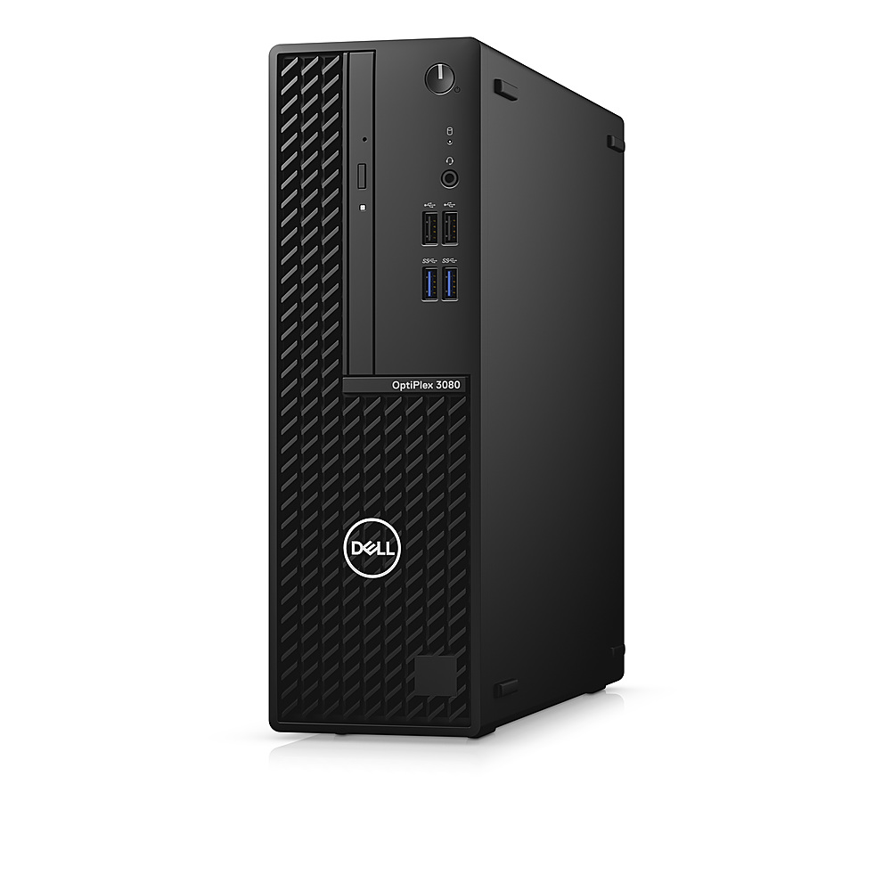Left Zoom. Dell - OptiPlex 3080 SFF PC - i5 -10500 - 8GB - 500GB HDD - Keyboard and Mouse.