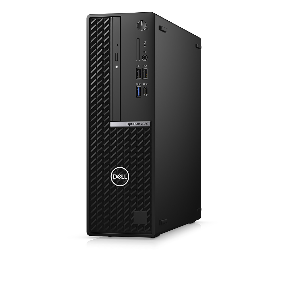 Left Zoom. Dell - OptiPlex 7080 SFF PC - i7-10700 - 8GB - 256GB SSD - Keyboard and Mouse.