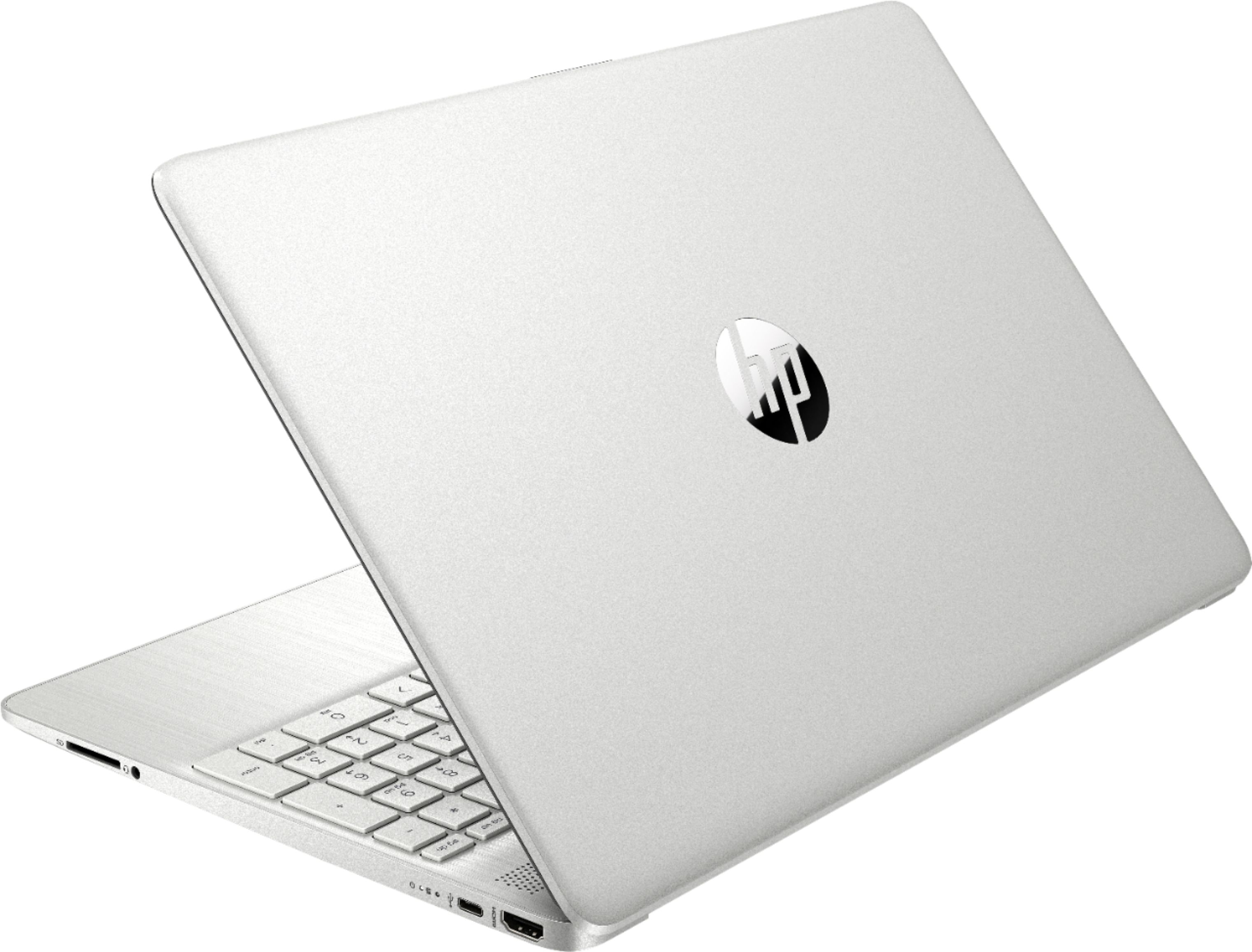 """Alt View Zoom 1. HP - 15.6"""" Touch-Screen Laptop - AMD Ryzen 5 - 12GB Memory - 256GB SSD - Natural Silver."""