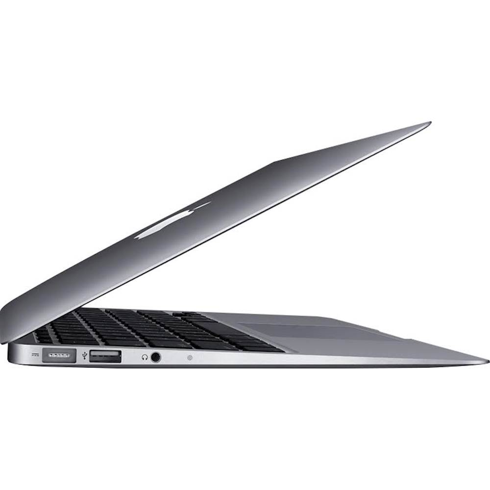 """Alt View Zoom 11. Apple - MacBook Air 11.6"""" Pre-Owned Laptop - Intel Core i5 - 2GB Memory - 64GB Solid State Drive - Silver."""