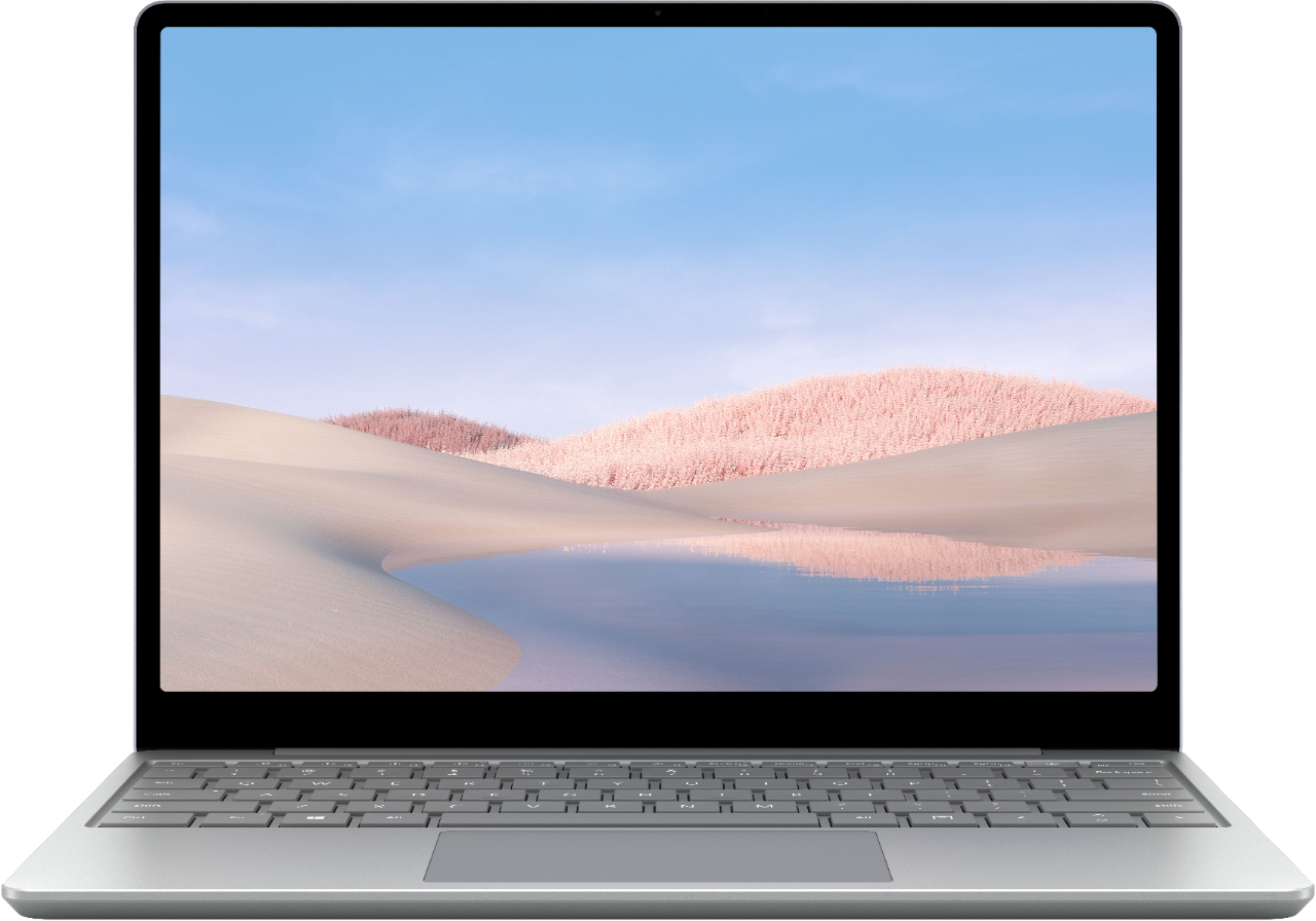 """Alt View Zoom 11. Microsoft - Surface Laptop Go - 12.4"""" Touch-Screen - Intel 10th Generation Core i5 - 4GB Memory - 64GB eMMC - Platinum."""