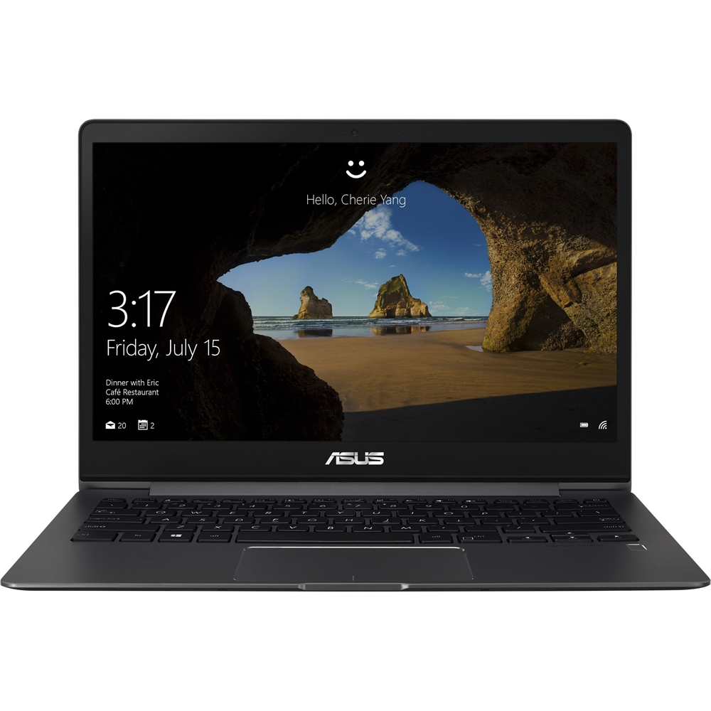 """Front Zoom. ASUS - 13.3"""" Laptop - Intel Core i7 - 8GB Memory - 512GB Solid State Drive - Slate Gray."""