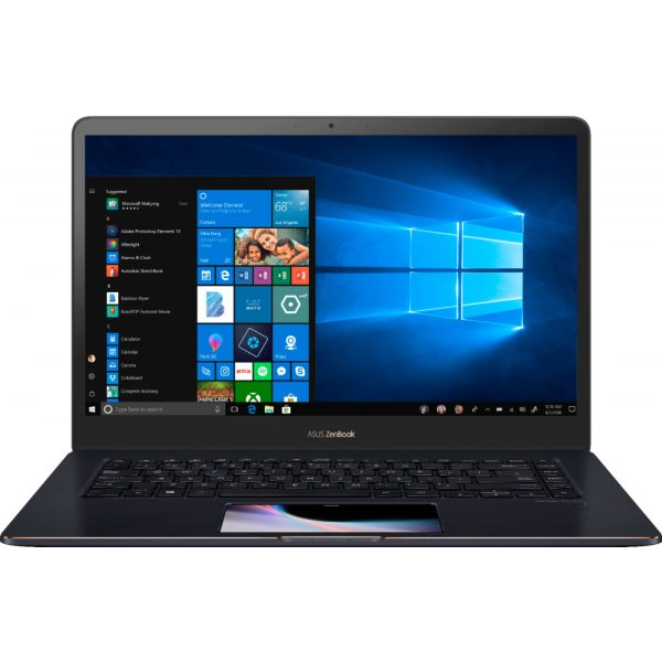 "Front Zoom. ASUS - Geek Squad Certified Refurbished 15.6"" Laptop - Intel Core i7 - 16GB Memory - NVIDIA GeForce GTX 1050 - 512GB SSD - Deep Dive Blue."