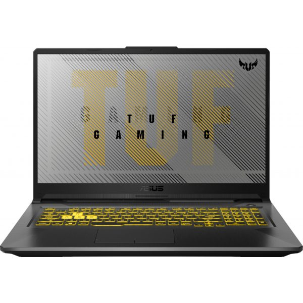 """ASUS - TUF 17.3"""" Gaming Notebook - AMD Ryzen 7 4800H 16GB Memory - NVIDIA GeForce GTX 1660Ti - 1TB Solid State Drive - Fortress Gray"""