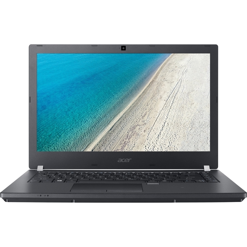 "Front Zoom. Acer - 14"" Touch-Screen Laptop - Intel Core i5 - 8GB Memory - 256GB Solid State Drive - Black."