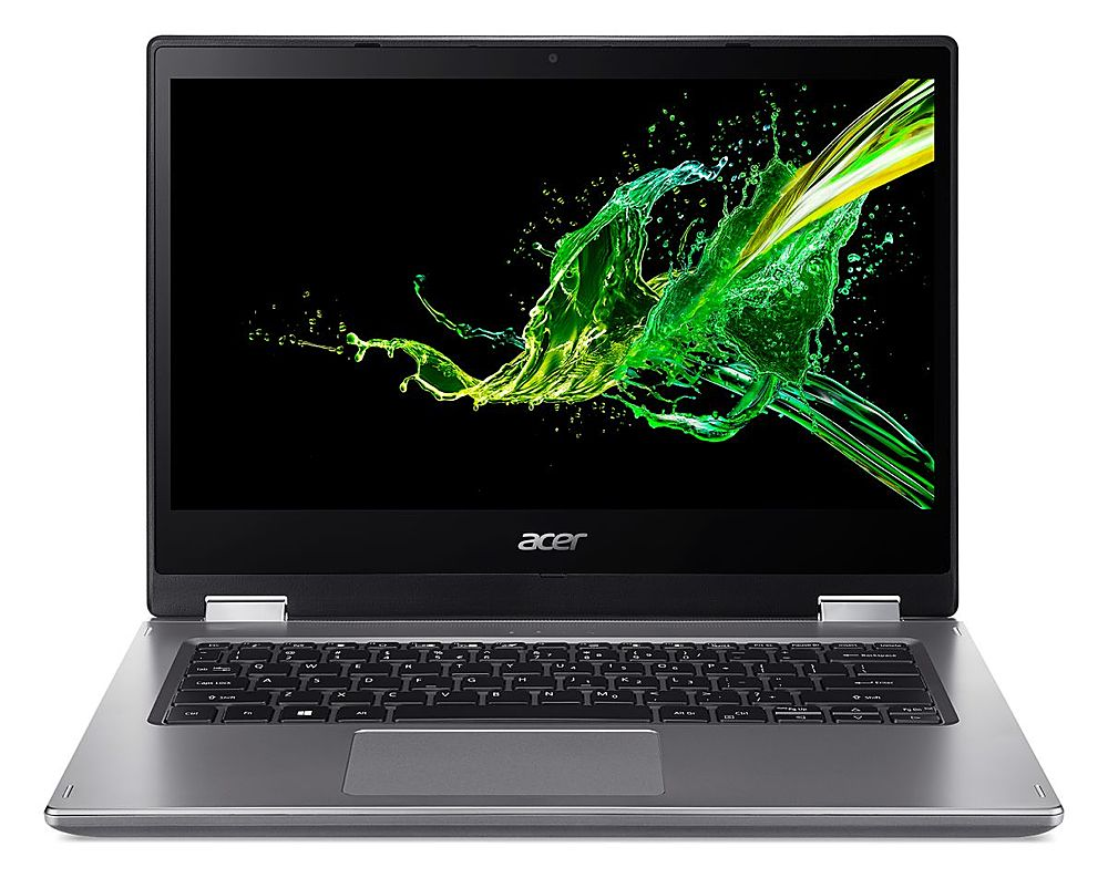 """Front Zoom. Acer Spin 3 - 14"""" Laptop Intel Core i5-8265U 1.6GHz 8GB Ram 256GB SSD Win10Home - Refurbished."""