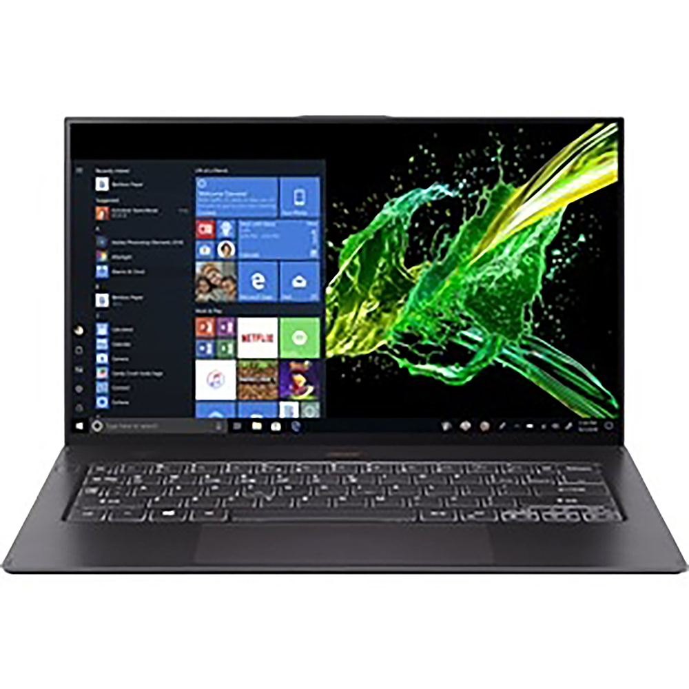 """Front Zoom. Acer - Swift 7 14"""" Touchscreen Notebook - i7-8500Y - 16GB Memory - UHD Graphics 615 - 512GB Solid State Drive."""