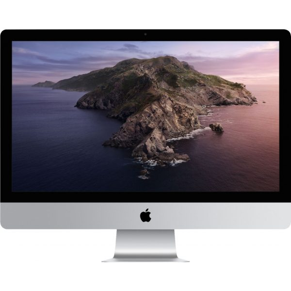 "Front Zoom. Apple - 27"" iMac® with Retina 5K display - Intel Core i5 (3.0GHz) - 8GB Memory - 1TB Fusion Drive - Silver."
