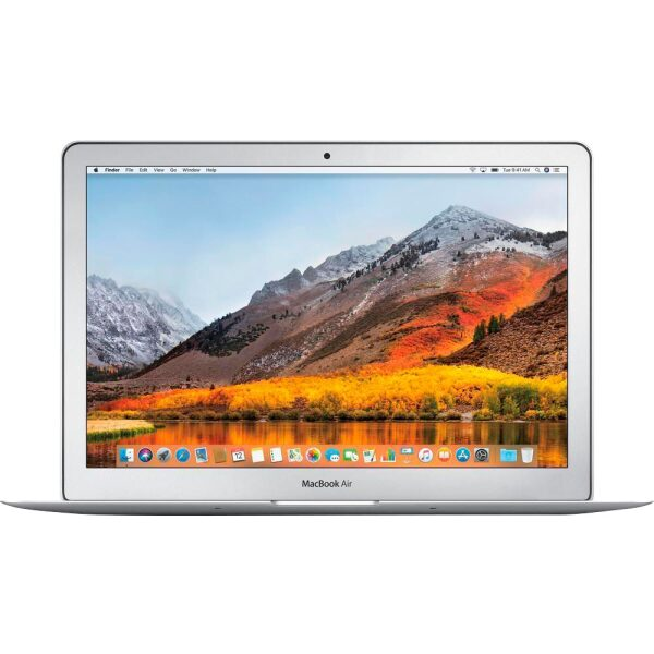 "Front Zoom. Apple - MacBook Air® - 13.3"" Display - Intel Core i5 - 8GB Memory - 512GB Solid State Drive - Silver."