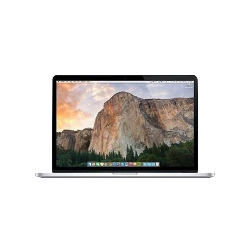 "Front Standard. Apple - MacBook Pro 13.3"" Pre-Owned Laptop - Intel Core i5 - 8GB Memory - 512GB Flash Storage - Silver."