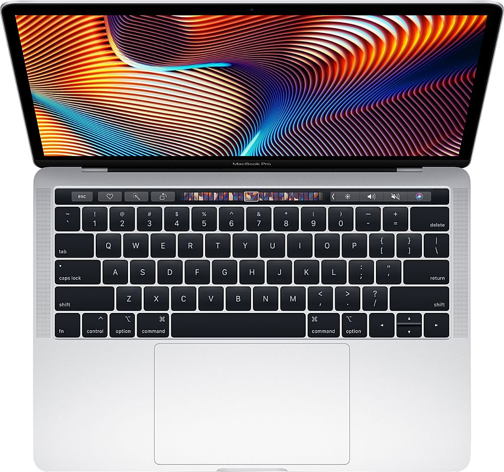 "Front Zoom. Apple - MacBook Pro 13.3"" Refurbished Laptop - Intel Core i5 (I5-8257U) Processor - 8GB Memory - 128GB SSD (2019 Model) - Silver."