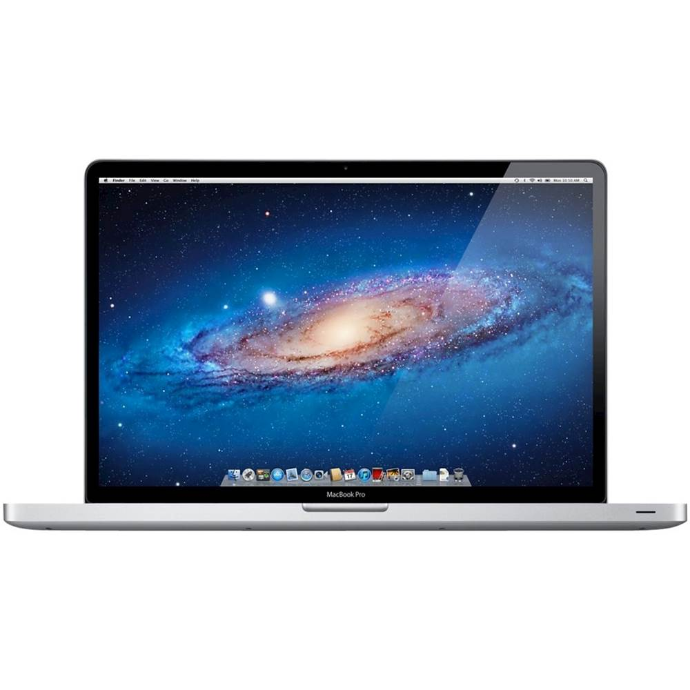"""Front Zoom. Apple - MacBook Pro 15.4"""" Laptop - Intel Core i5 - 4GB Memory - NVIDIA GeForce GT 330M - 320GB Hard Drive - Pre-Owned - Silver."""